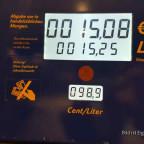 Kraftstoffpreise Tanksäule